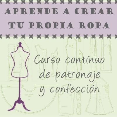 Curso costura, patronaje Madrid Hortaleza