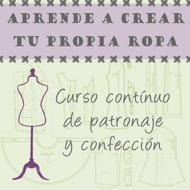Curso costura, patronaje Madrid